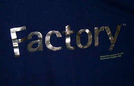 FAC 299 Factory t-shirt