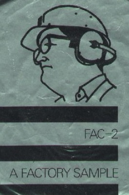 FAC 2 VARIOUS ARTISTS A Factory Sample