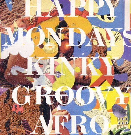 FAC 302 Kinky Afro; front cover detail