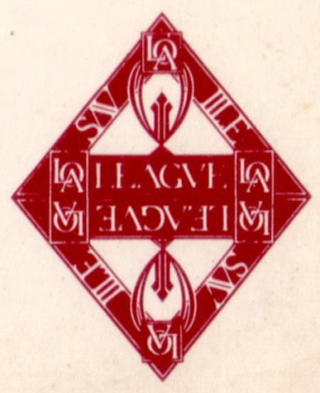FAC 33 Ceremony; front cover detail showing 'League' logotype