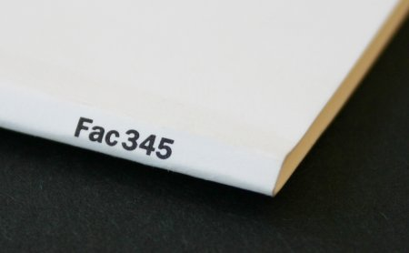 FAC 345 PALATINE / The Factory Christmas Gift 1991; spine detail showing Factory catalogue number