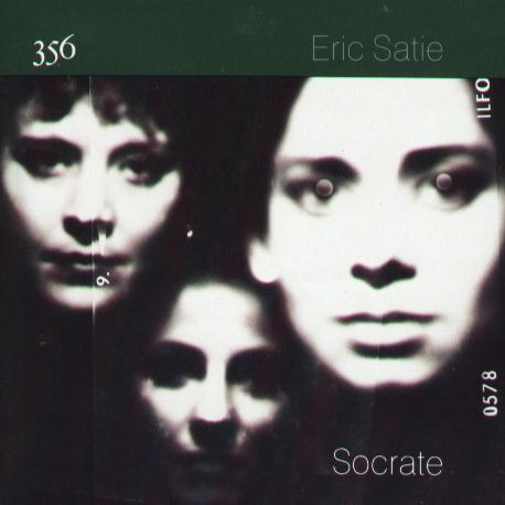 FACD 356 Eric Satie, Socrate; front cover detail