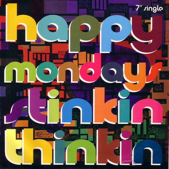 FAC 362 Stinkin Thinkin; 7-inch single front cover