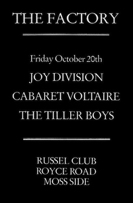 Factory Records: THE TILLER BOYS