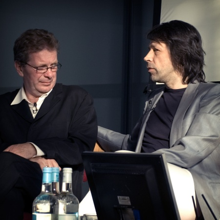 FAC 461 Factory Records: The Complete Graphic Album; book event @ Urbis, Thursday 13 July - Anthony Wilson and Peter Saville