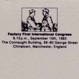 FAC 81 Factory 1st International Congress