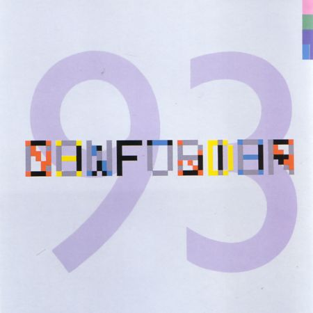 New Order - FAC 93 Confusion; front cover detail