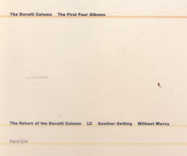 FACD 224 The First Four Albums; front cover detail