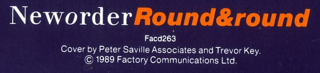 FACD 263 Round & Round cd single; back cover detail