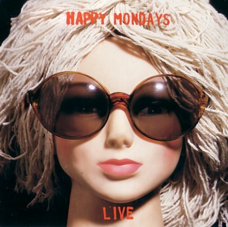 Facd 322 Happy Mondays Live; front cover detail