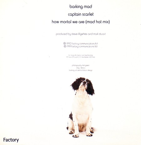 FACD 347 Barking Mad; back cover detail