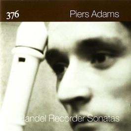 FACD 376 PIERS ADAMS Handel Recorder Sonatas