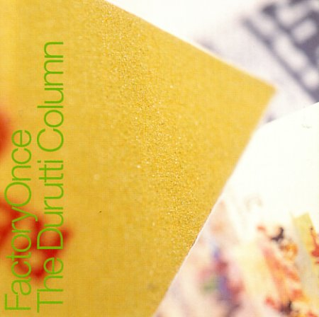 Facdo 14 The Return Of The Durutti Column; front cover detail