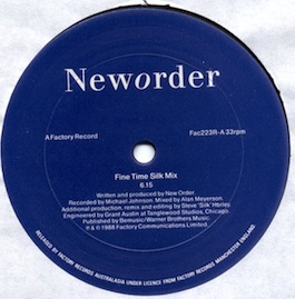FAC 223R NEW ORDER Fine Time Remix