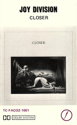 FACOZ 1001 JOY DIVISION Closer