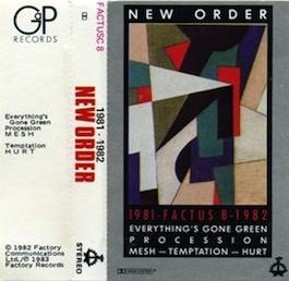FACTUS 8 NEW ORDER 1981-1982
