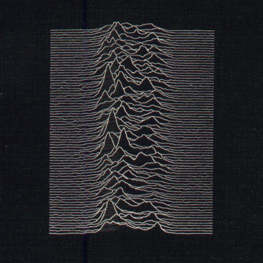 FACT 10 Unknown Pleasures front cover detail