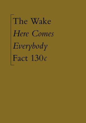 FACT 130c Here Comes Everybody unreleased Factory boxed cassette