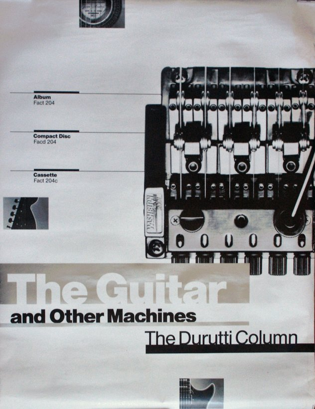 Fact 204 The Guitar and Other Machines promotional poster