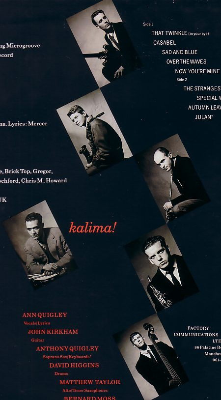 FACT 206 Kalima!; back cover detail