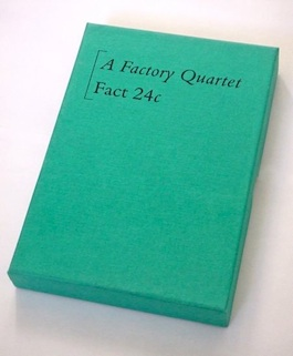 FACT 24 VARIOUS ARTISTS A Factory Quartet