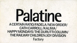 Factory Records: FACT 400V VARIOUS ARTISTS Palatine The Free Vid