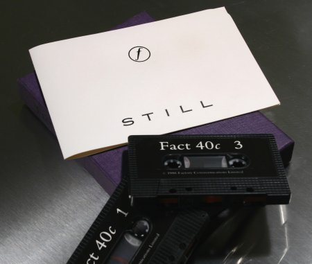 FACT 40c Still; boxed cassette detail [2]