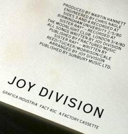 FACT 40 JOY DIVISION Still