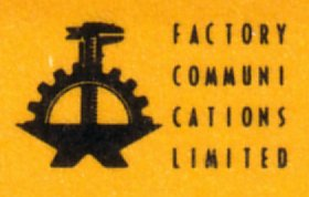 FACT 45C Always Now; detail of Factory anvil logo