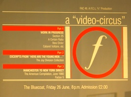 FACT 46 VARIOUS ARTISTS The Video Circus (Liverpool)