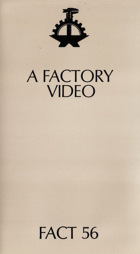 FACT 56 (Ikon 3) A Factory Video; front cover detail