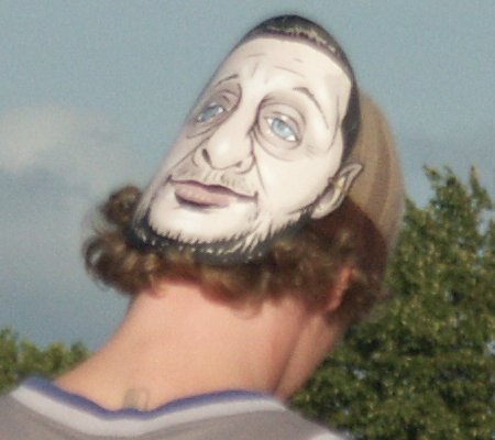 Get Loaded In The Park; the man in the Shaun Ryder mask