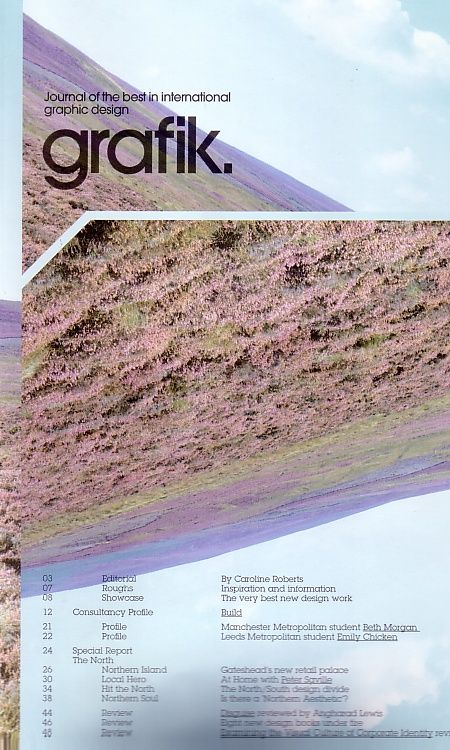 Grafik magazine May 2004; front cover detail