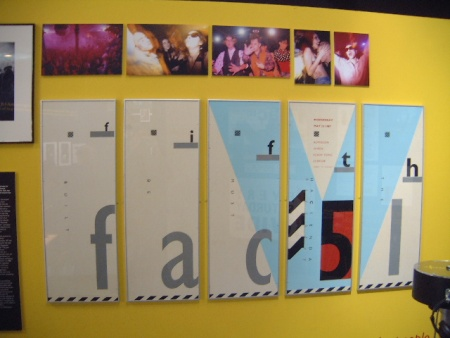 Hacienda 25: The Exhibition - FAC 491; The Fifth Birthday posters