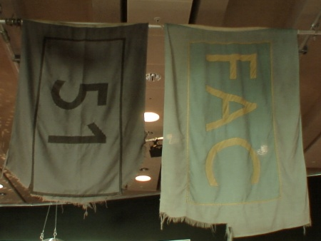 Hacienda 25: The Exhibition - FAC 491; Hacienda flags