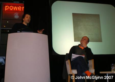 Hacienda 25: The Exhibition - FAC 491; the Ben Kelly and Peter Saville talk