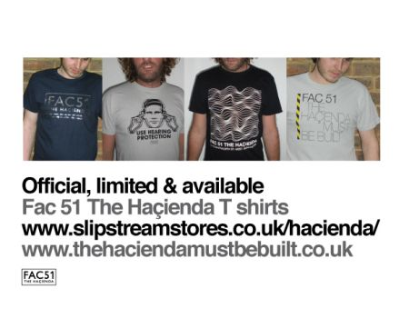 FAC 51 The Hacienda official limited & available FAC 51 The Hacienda T Shirts