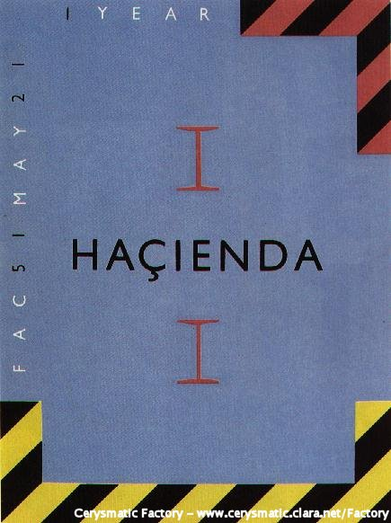 FAC 51 The Hacienda First Birthday poster
