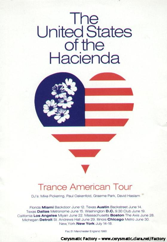 From Manchester With Love - United States of the Hacienda