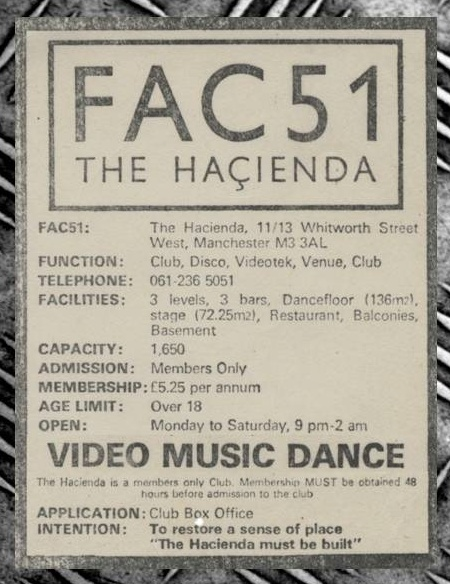 Ghosts of the Hacienda; flyer detail