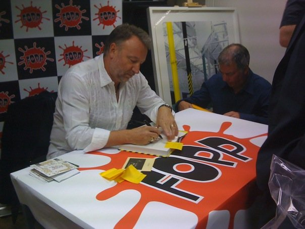 The Hacienda - How Not To Run A Club by Peter Hook; Hooky at the Fopp book signing on 9 October 2009