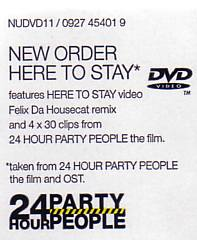 Here to Stay DVD