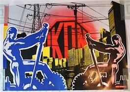 IKON 38 'Power - El Planetero' Poster