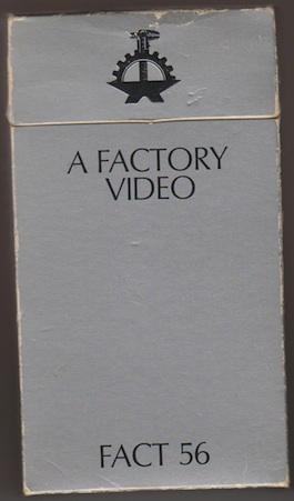 IKON 3 VARIOUS ARTISTS A Factory Video