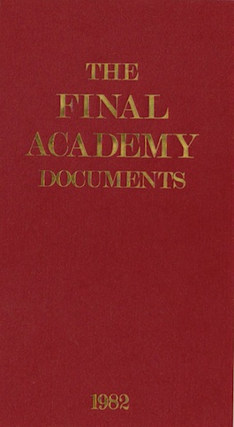 IKON 9 The Final Academy Documents