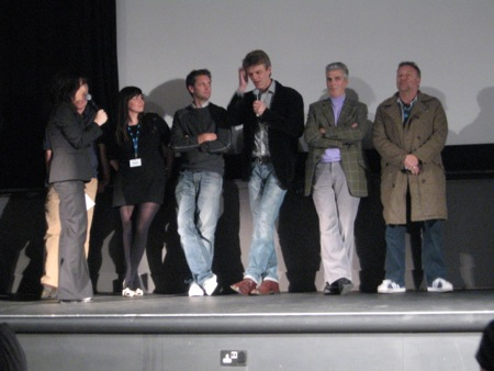 Joy Division film documentary; at the European Premiere, 7 November 2007, Sheffield