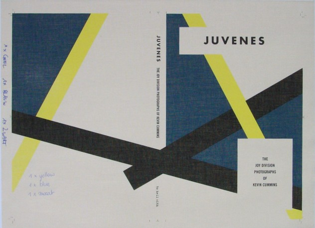 Juvenes: The Joy Division Photographs of Kevin Cummins; photograph of first test screen-printed cover