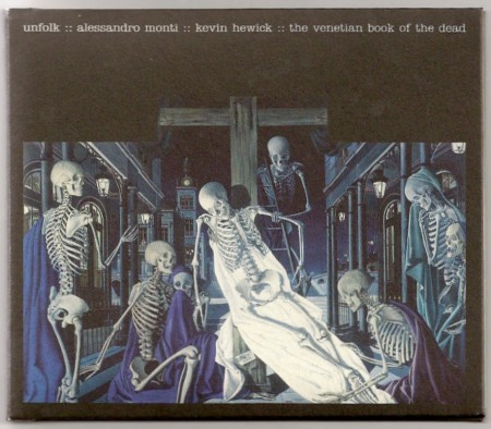 The Venetian Book of the Dead; front cover detail