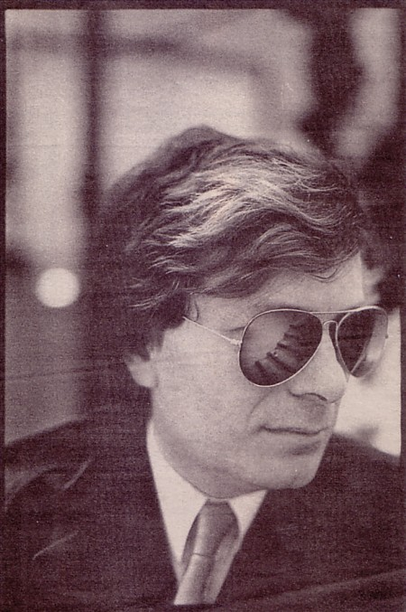 Tony Wilson; NME 31 May 1986; [photo credit: A.J. Barratt]
