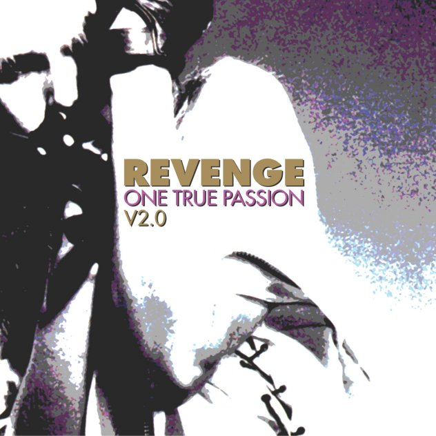 Revenge LTMCD 2375 one True Passion V2.0; front cover detail